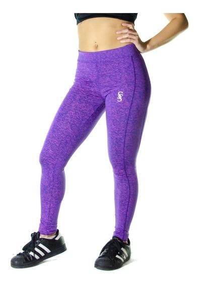 Calzas Largas Leggings Lycra Mujer Deportiva