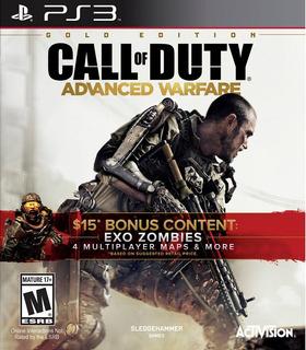 Call Of Duty: Advanced Warfare Gold Edition / Ps3 Digital
