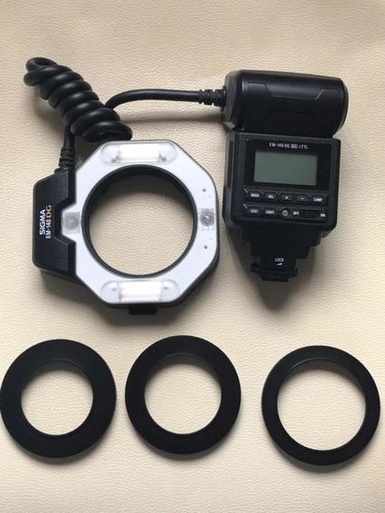 Flash Circular Sigma Em-140dg P/ Nikon