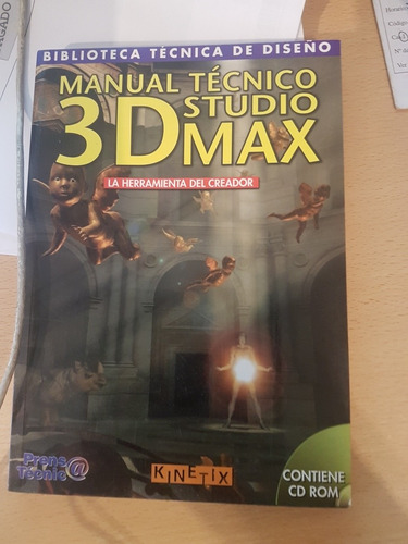 Libro Manual Tecnico Studio 3dmax