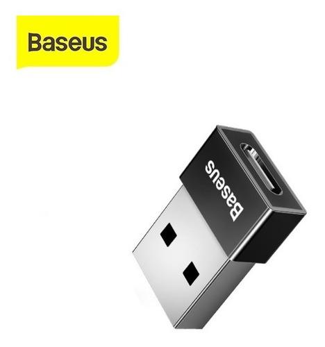 Imagem 1 de 3 de Adaptador Usb Para Usb-c 2.4a Baseus