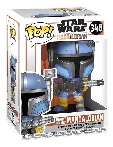 Funko Pop Mandalorian 348 Heavy Infantry Star Wars Original