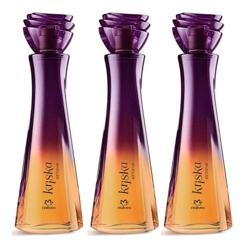 Perfume Kriska Arrasa X3 Natura.