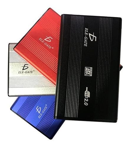 Imagen 1 de 2 de Gabinete Case Disco Duro Ide De Laptop 2.5 Usb 2.0 Ele-gate