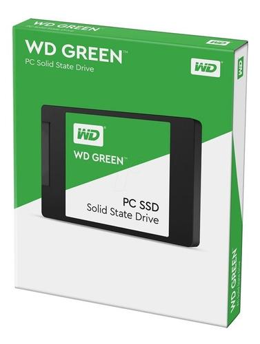 Imagen 1 de 4 de Disco Solido Ssd 240gb Western Digital Green Wd Sata 3 Gtia