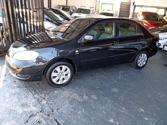 Toyota Corolla Xei 1.8 M/t 2007 Preto Completo