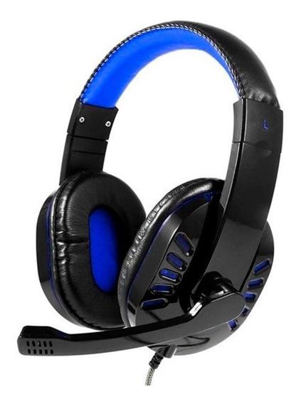 Headset Gamer Exbom Hf-g310p4 Com Microfone Cabo P3 E Leds