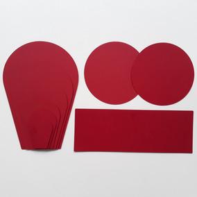 12 Kits Para Flores De Papel - Modelo 1 - Color Plus 180g