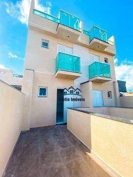 Apartamento Sem Condomínio Com 02 Quartos, 02 Quintais, Finíssimo Acabamento, Vaga  À Venda, 50 M²  - Vila Tibiriçá - Santo André/sp - Ap1970
