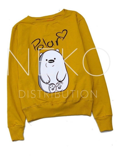 Sudadera Escandalosos Polar We Bare Bears