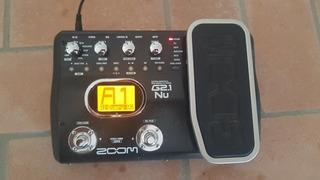 Pedal De Efectos Zoom G2.1 83 Efectos 40 Ritmos Usb Tel 7045