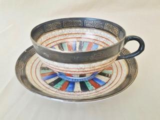Elegante Taza De Té En Porcelana Japonesa