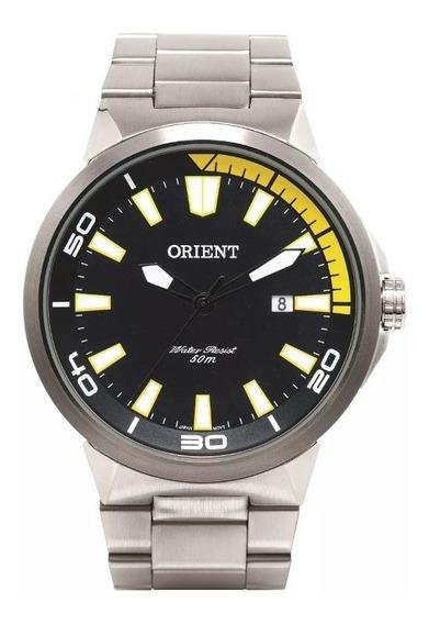 Relógio Orient Original Inox Mbss1197a Pysx Social Esportivo