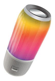 Parlante Bluetooth Noga Corvi 10w Led 360 Manos Libres Cuota