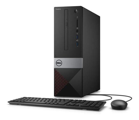 Desktop Dell Vostro -3470 I3 8gb Ssd120, 1tb W10 Pro