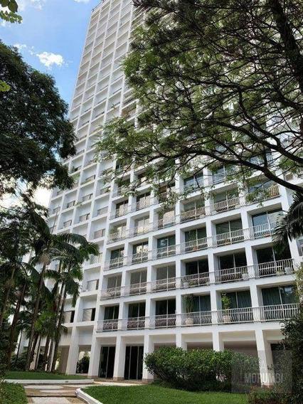 Apartamento Com Piscina, E Vista Para A Praça Do Real Parque A Venda. - Ap1284