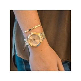Relógio Euro Feminino Unique Dourado Eu2035yrj/k4d