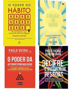 Kit Livros - O Poder Do Hábito + 3 Livros