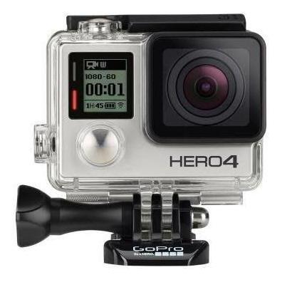 Câmera Gopro Hero 4 Silver + Cartão 64gb + Case + Acessórios