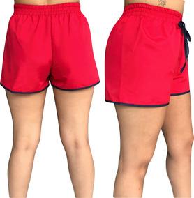 Kit 3 Shorts Feminino Tactel C/cadarço Promoção!!