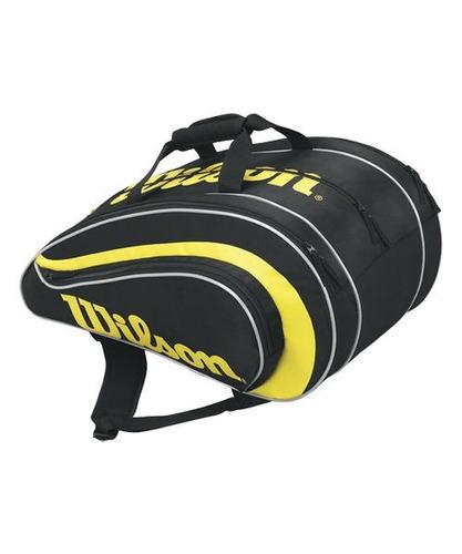Imagen 1 de 6 de Bolso Paletero Padel Wilson Rak Pak  -  Tenis Con Efecto
