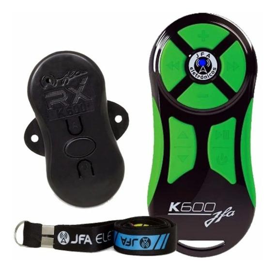 Controle Longa Distancia Jfa Verde Com Preto K600 M Remoto