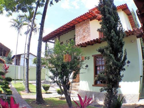 Casa Com 3 Dormitórios À Venda, 354 M² Por R$ 1.785.000,00 - Anil - Rio De Janeiro/rj - Ca0065