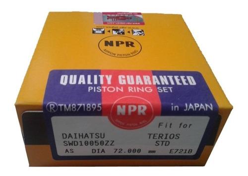 Anillos Terios 2002-2007 Standard Std Npr Japonés