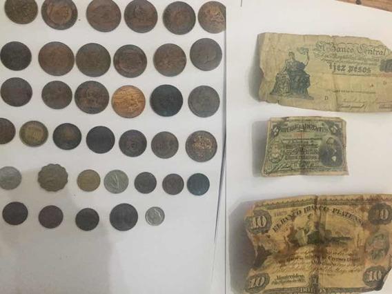 Colección Monedas/billet (1870-1953) Diversas Nacionalidades