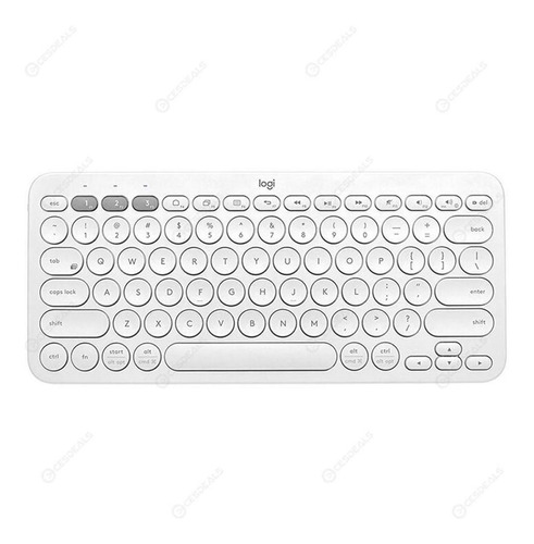 Teclado Logitech K380 Bluetooth  Multi-device. Blanco