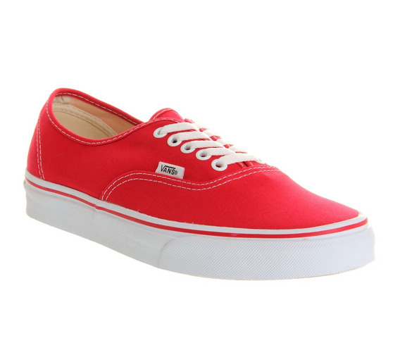Zapatillas Vans Authentic Rojas !!! 100% Originales