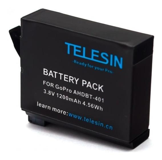 Bateria Recarregável Telesin Gopro Hero 4 Go Pro
