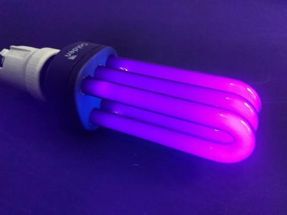 Lâmpadas Luz Negra 25w 127v Festa Neon Balada Dj -2 Unidades