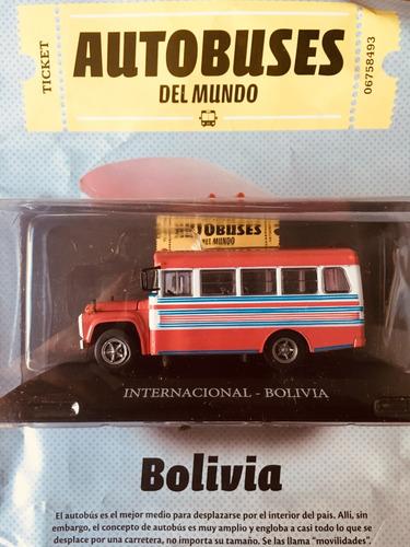 Autobuses Del Mundo - N°13 Internacional - Bolivia