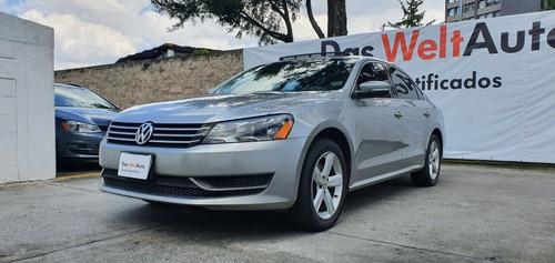 Imagen 1 de 11 de Volkswagen Passat 2.5 Sportline Automatico Plata 2013