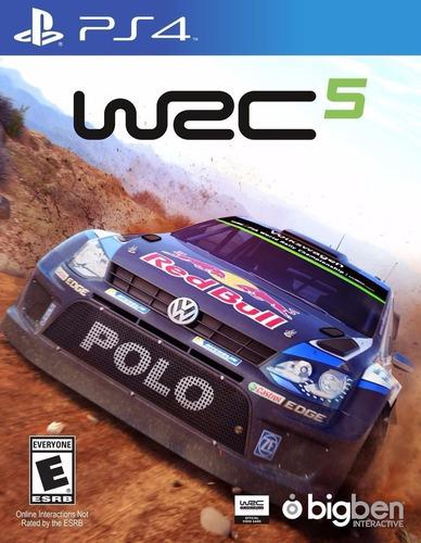 Wrc 5 World Rally Championship Juego Ps4 Original + Garantía