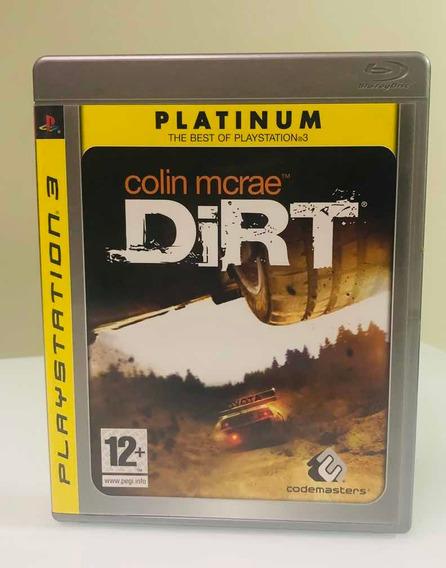 Jogo Colin Mcrae Dirt Para Ps3