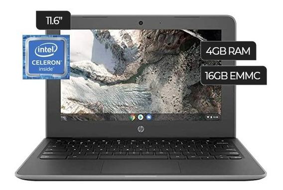 Laptop Hp Chromebook 11 G7 Ee Intel Celeron 16gb 4gb