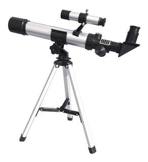 Telescopio Refractor 400x40 C Tripode Brujula Astroterrestre
