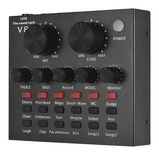 Tarjeta De Sonido Externa Usb Con Interfaz De Audio