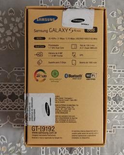 Caixa Original Samsung S4 Mini
