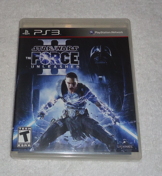 Star Wars The Force Unleashed 2 Ps3 ** Frete Gratis Leia