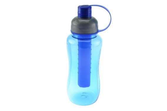 Squeeze Garrafa Plástica Refrigerada 800 Ml + Brinde