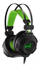 Fone De Ouvido Headset Warrior Gamer Arco Usb E P2 Ph225