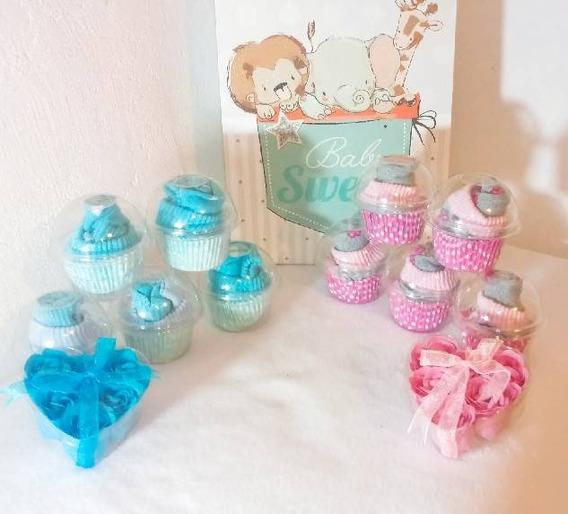 ** 20 Tines Cupcake, Recuerdos Utiles Baby Shower