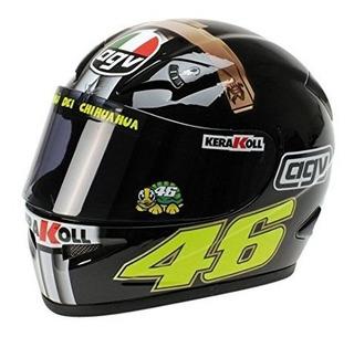 Minichamps Casco Valentino Rossi, Moto Gp, Escala 1:2