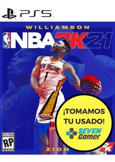 Nba 2021 2k21 Ps5 Juego Fisico Sellado Original Sevengamer