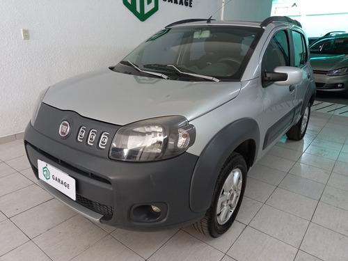 Imagen 1 de 11 de Fiat Uno Novo 2013 1.4 Way Gnc