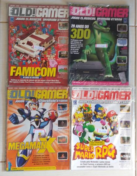 Revista Old! Gamer Kit Com 18 Edições - Novas E Seminovas
