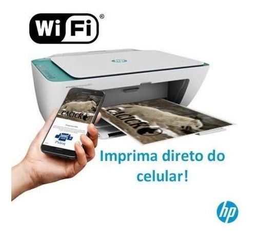 Impressora Multifuncional Hp Deskjet Ink Advantage 2676 Wifi